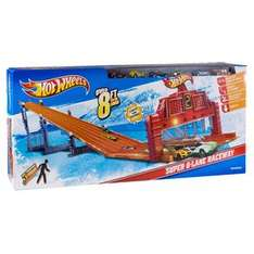(Brands4Friends) Hot Wheels Super 6-In-1 - Lane Raceway
