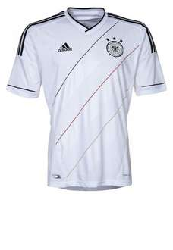 [zalando.de] DFB Home - Nationalmannschaft - white/black  Größe M 23,95 € wieder verfügbar