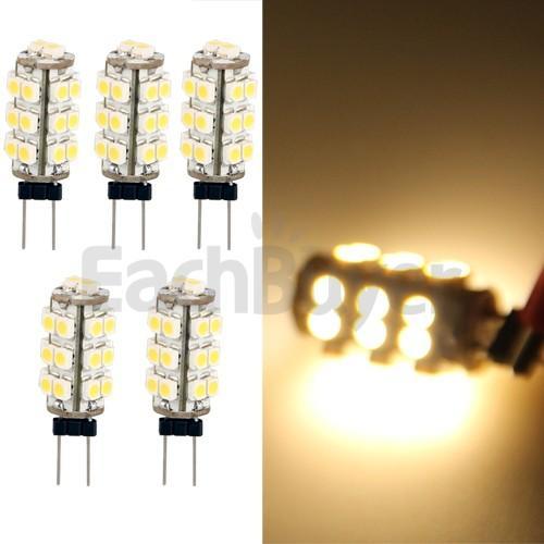 5x G4 SMD LED