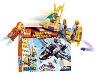 LEGO Marvel Super Heroes – Quinjet Luftschlacht für 36 Euro (exkl. Versand) bei Interspar.at