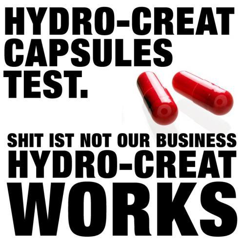 3 Hydro Creat-Kapseln zum Testen für 0 €