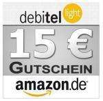 [ebay] Debitel-light SIM-Karte für je 1,95€ plus 15€ Amazon