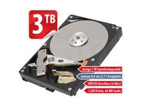 Toshiba DT01ACA300 3TB 64MB 7200rpm für 99,999 € @MeinPaket
