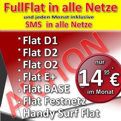 Allnet-Flat D2 nur 14,95mtl. -Flatrate in alle Netze+Internet-Flat+SMS