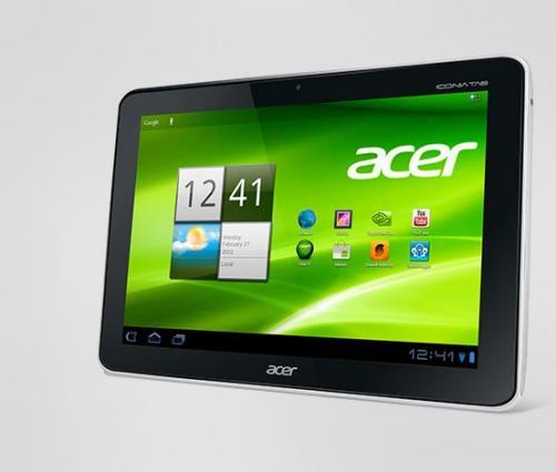 Acer A210 + Autobild App/ePaper