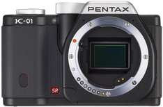 Pentax K-01 Body schwarz für ~298,- € (Idealo.de: 359,- €) @SRS Microsystems Ebay.co.uk oder Onlineshop