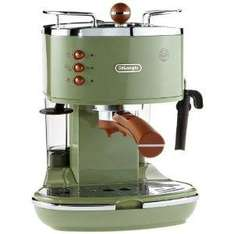 DeLonghi Icona Vintage ECOV310.GR Espressomaschine für 123,83 € @Amazon.it (Idealo: 147,88 €)