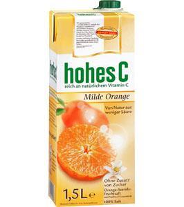 LOKAL Berlin, 1,5L Hohes C Saft Sorten: Orange, Apfel, Multi für 0,86€/L @ Kaufland