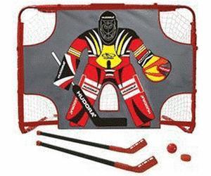 Hudora Streethockeyset (Tor mit Torwand 2 Hockeyschläger 1 Puck 1 Floorball ) für 13,49 € @ DC