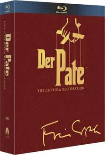 Saturn Köln - Bluray-Box Der Pate Trilogie, 4 Discs, nur am 06.03.