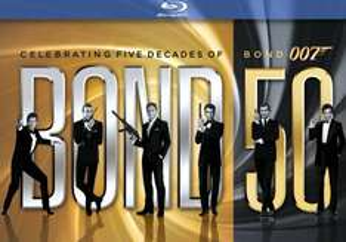 James Bond Jubiläumskollektion (Blu-Ray) für lau