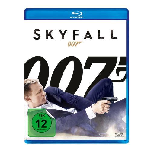 [lokal] James Bond Skyfall Blu-ray und DVD je 9,90 € bei Mediamarkt