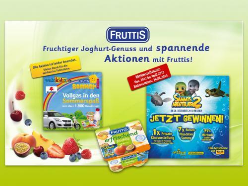 Fruttis Kirschjoghurt+videobuster film gutschein (leer,ostfriesland)