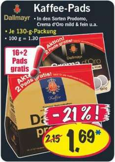 [LiDL] Dallmayr Aktion Pads 16+2