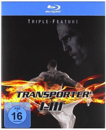 Transporter 1-3 - Triple-Feature [Blu-ray]