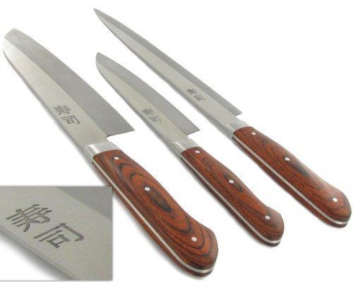 3er Messerset aus gehärtetem Stahl @ Amazon | UVP 45,90 | Idealo: 29,90