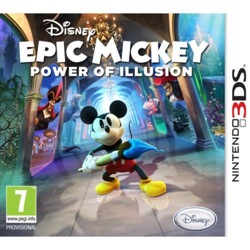Nintendo 3DS - Disney Micky Epic: Macht der Fantasie für €17,31 [@Zavvi.com]