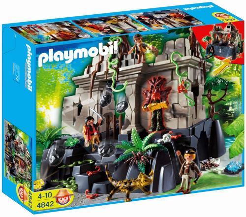 Playmobil™ - Schatzjäger Schatztempel mit Wächtern (4842) ab €20,79 [@Galeria-Kaufhof.de]
