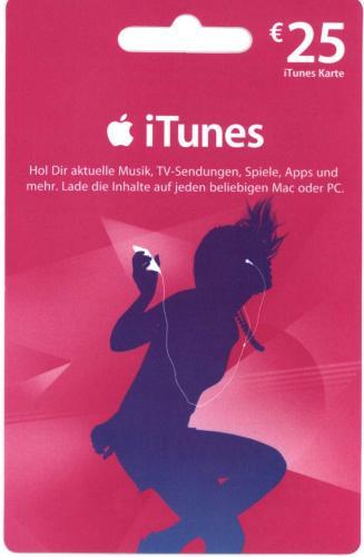 [offline @Kaisers] iTunes Guthabenkarten 2x 25EUR
