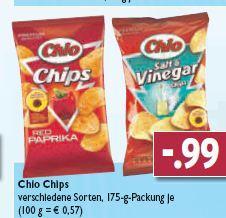 Chio Chips bei Edeka Gundersheim und Osthofen für 0,99 €