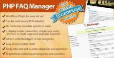 FAQ Manager Wordpress Plugin (Standalone or integrate to Wordpress)