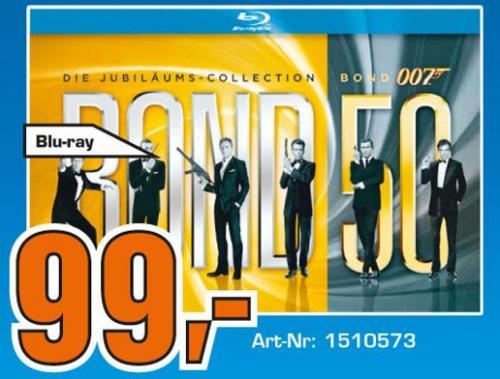 James Bond Jubiläums-Edition im Saturn Aachen