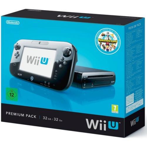 Nintendo Wii U Konsole 32 GB Premium Pack für 279€