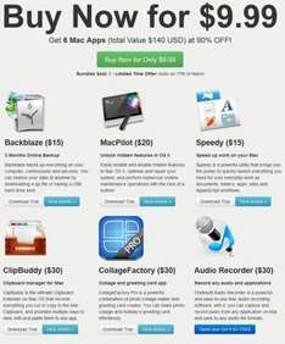 Neues Bundle von Bundleecious.com - 6 Apps für nur 9.99$ (7,68€)