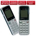 Seniorenhandy Medion 1200 mit extra großen Tasten für nur 24,99 Euro inkl. Versandkosten.