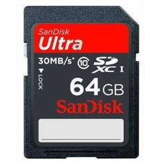 SanDisk Ultra SDXC 64GB Class 10 für 38,90€ @Amazon