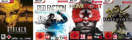 Darksiders 2,49€ Steam u.Homefront  9,99€ Steam,Red Faction: Armageddon Steam und S.T.A.L.K.E.R.: Shadow of Chernobyl Steam für 2,49€Neu:Titan Quest: Gold Edition Steam 2,49€