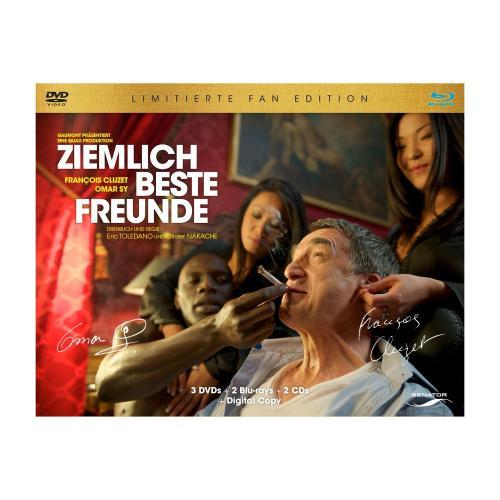 Ziemlich beste Freunde - Fan Edition [Blu-ray + DVD] [Limited Edition] für 24,95 € @ amazon.de