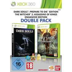 (Xbox 360) Double Pack: The Witcher 2: Enhanced Edition + Dark Souls: Prepare to die Edition bei Amazon