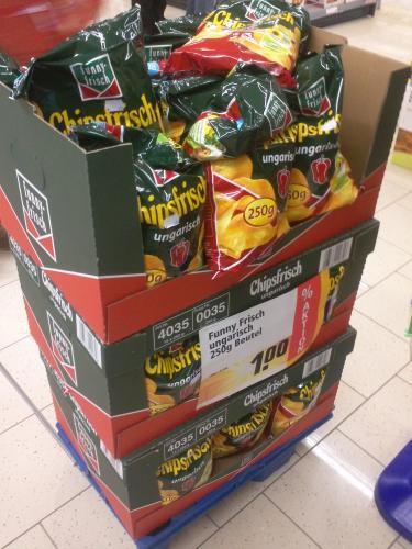 [Lokal Bielefeld]250g Packung Funny Frisch ungarisch fuer 1€