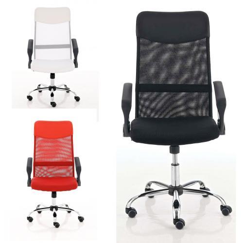 Design Bürostuhl Washington in schwarz, grau, rot oder weiß