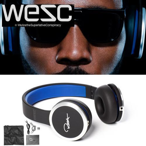 Wesc RZA street Kopfhörer schwarz/blau- Exzellenter Sound mit exzellentem Design @ iBood