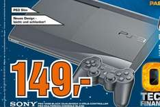 Playstation 3 Slim 12GB Flash 149€ @Aachen Saturn