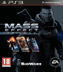 Mass Effect Trilogy PS3 PEGI