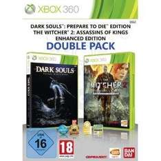 The Witcher 2: Assassins of Kings - Enhanced Edition + Dark Souls: Prepare to Die Edition (Xbox 360) um 32,97€ bzw. 33,25€