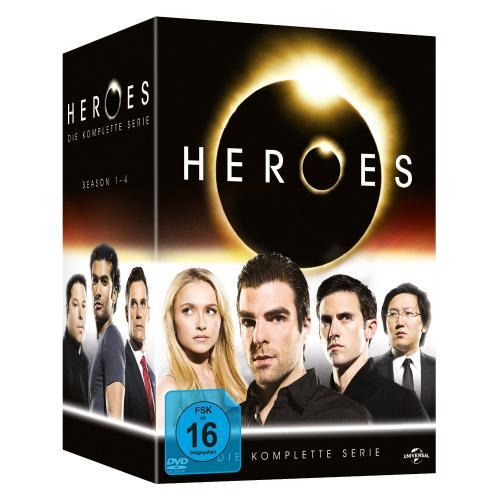 (Amazon) Heroes Gesamtbox (23 DVDs) für 29,99