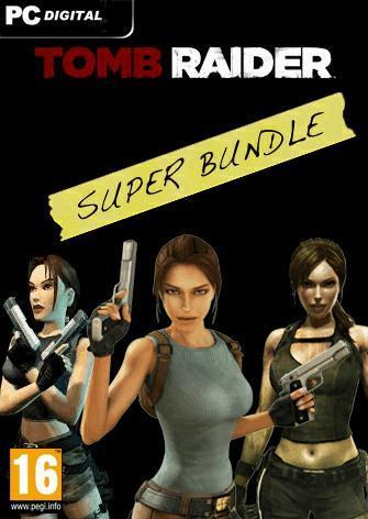 Tomb Raider Super Bundle (Steam) £9.99 ca 11,58€ game.co.uk