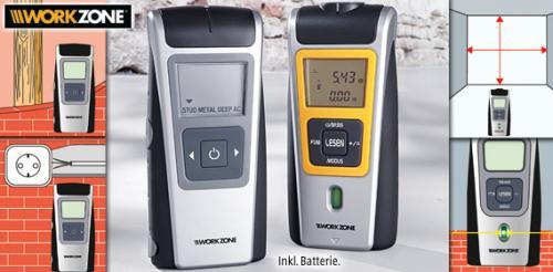 [offline @ Aldi-Süd ab 11.03.13] Stromleitungsfinder und Entfernungsmessgerät für je 12,99€
