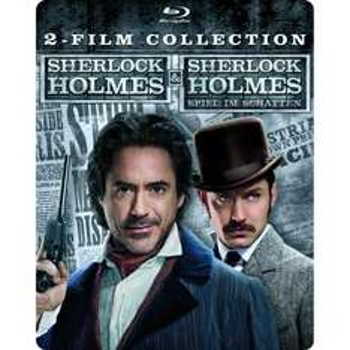 Sherlock Holmes & Sherlock Holmes: Spiel im Schatten Steelbook [Blu-ray] für 16,97 €