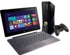 Asus Vivo Pad TF600T-1B140R 32GB mit Docking + Xbox 360 Slim 4Gb Amazon