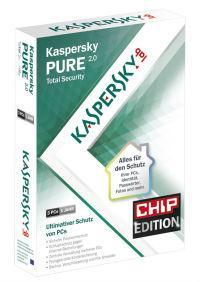 Kaspersky Pure 2.0: Gratis auf der aktuellen CHIP-DVD