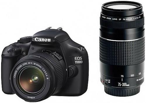 [Lokal] Canon EOS 1100D mit Objektiv EF-S 18-55mm und EF 75-300mm