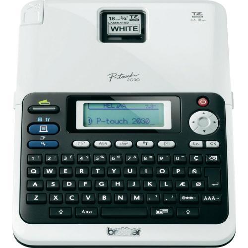 Brother P-touch 2030 VP Beschriftungsgerät für 3,5 - 18 mm breite TZ-Bänder für Gesamtpreis: 15,90 €