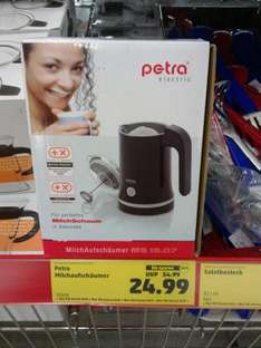 [Penny] Petra Milchaufschäumer für 24,99€
