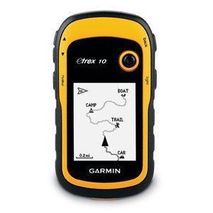 Garmin GPS Handgerät eTrex 10, schwarz/gelb UVP 119€ laut GH 94€ @Amazon WHD 64,28 Euro