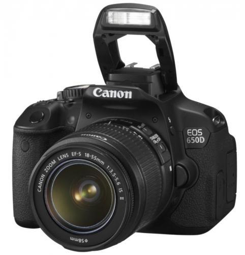 Canon EOS 650D bei eBay mit 18-55 mm IS NEUWARE Händler Cyberport!